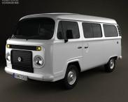 3D model of Volkswagen Kombi (T2) 2012