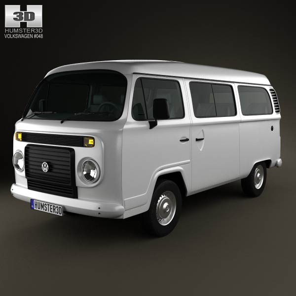 Volkswagen Kombi (T2) 2012 3d car model