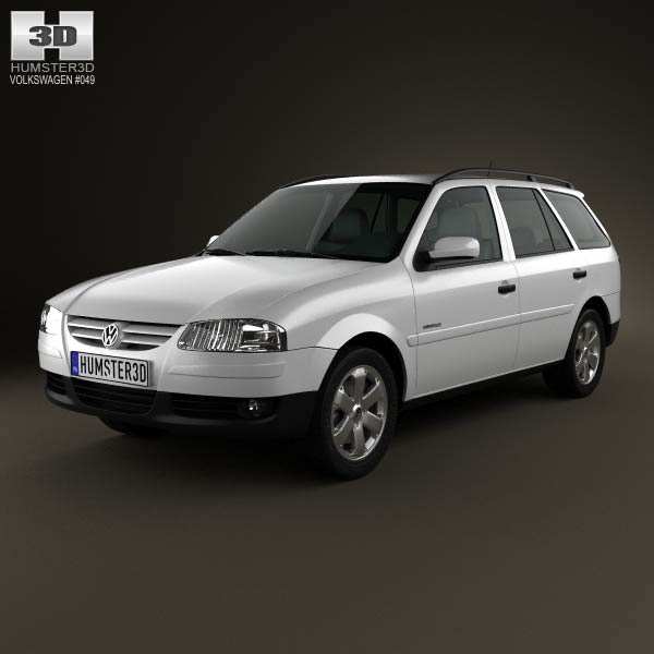 Volkswagen Parati 2012 3d car model