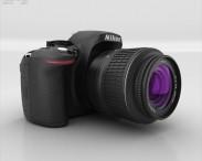 3D model of Nikon D5200