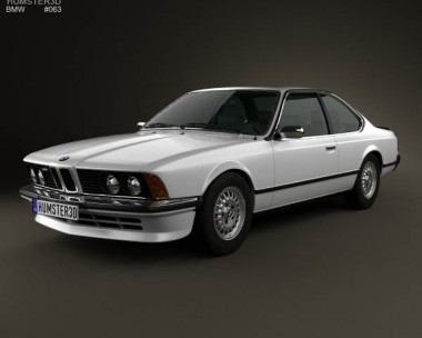 3D model of BMW 6 Series (E24) 1978
