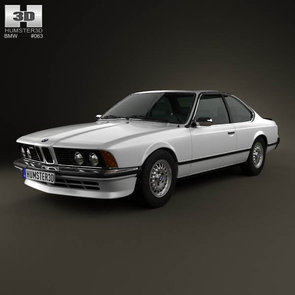 BMW 6 Series (E24) 1978 3d car model