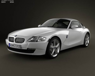 3D model of BMW Z4 (E85) coupe 2002