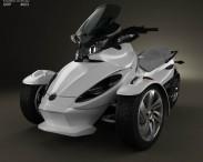 3D model of BRP Can-Am Spyder ST 2013