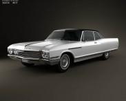 3D model of Buick Electra 225 Sport Coupe 1966
