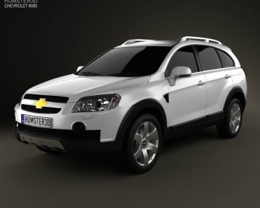 3D model of Chevrolet Captiva 2010