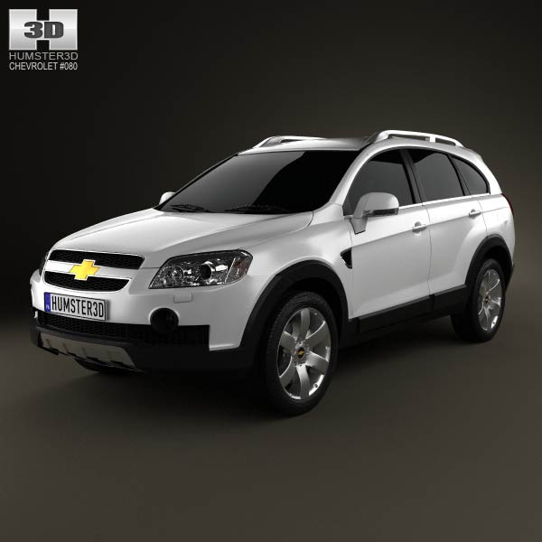 Chevrolet Captiva 2010 3d car model