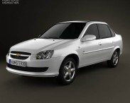 3D model of Chevrolet Classic 2013