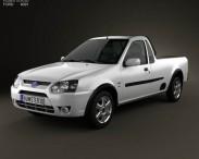 3D model of Ford Bantam 2012