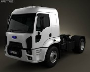3D model of Ford Cargo Tractor Truck 2012