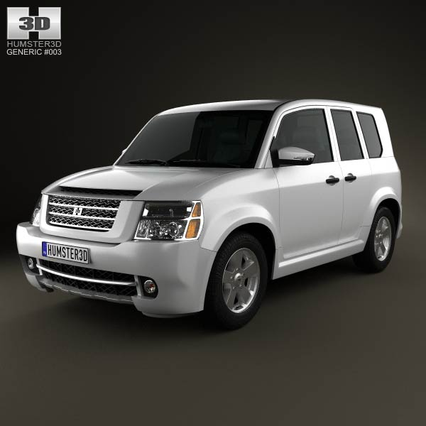 Generic SUV 2013 3d car model