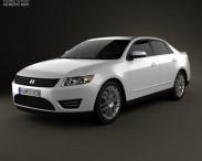 3D model of Generic Sedan 2013