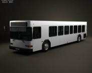 3D model of Gillig Low Floor Bus 2012