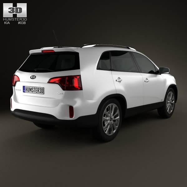 Kia Sorento XM 2012 3d model