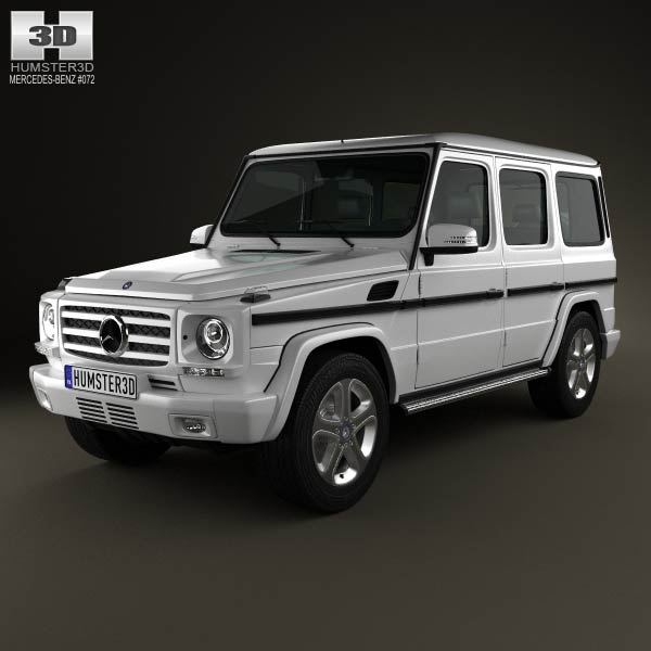 Mercedes benz g class 5 door 2013 3d model humster3d for 2013 mercedes benz g class