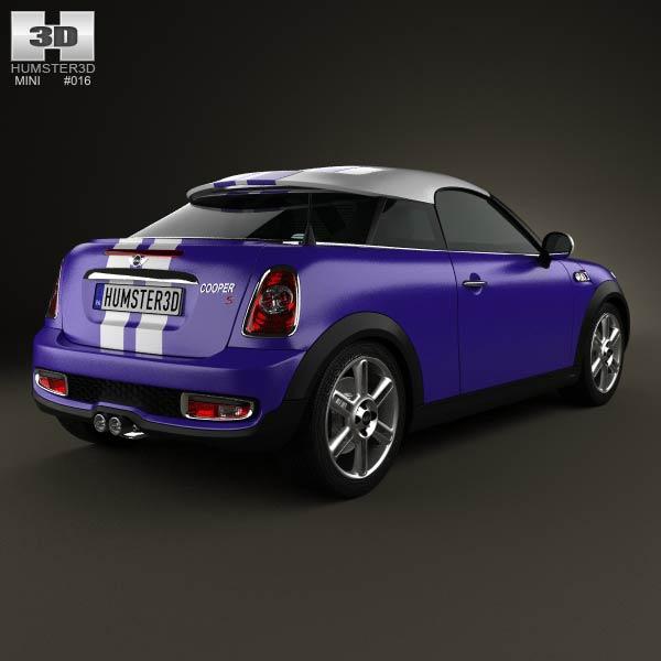 Mini Cooper S coupe 2013 3d model