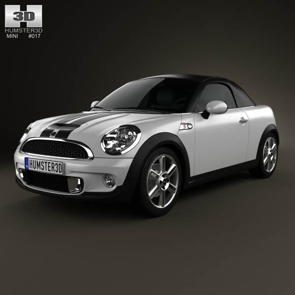 Mini Cooper S roadster 2013 3d car model