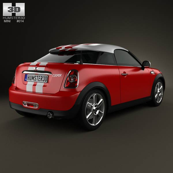 Mini Cooper coupe 2013 3d model