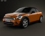 3D model of Mini Cooper roadster 2013