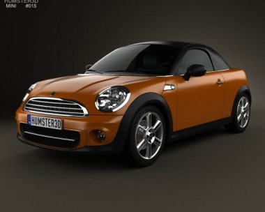 3D model of Mini Cooper roadster 2013