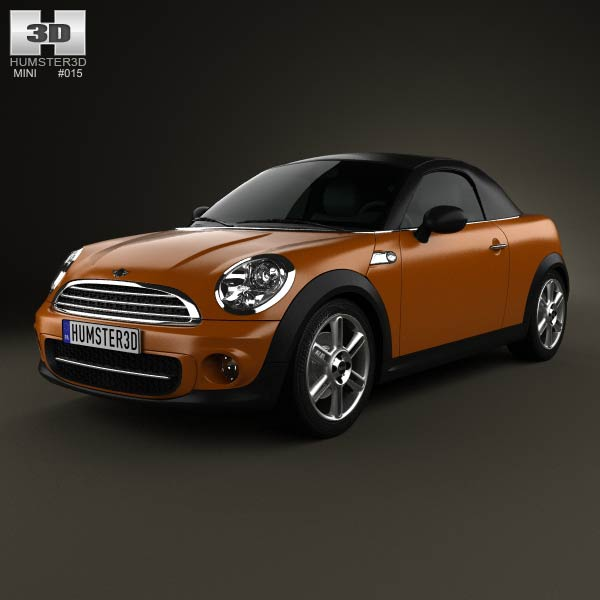 Mini Cooper roadster 2013 3d car model