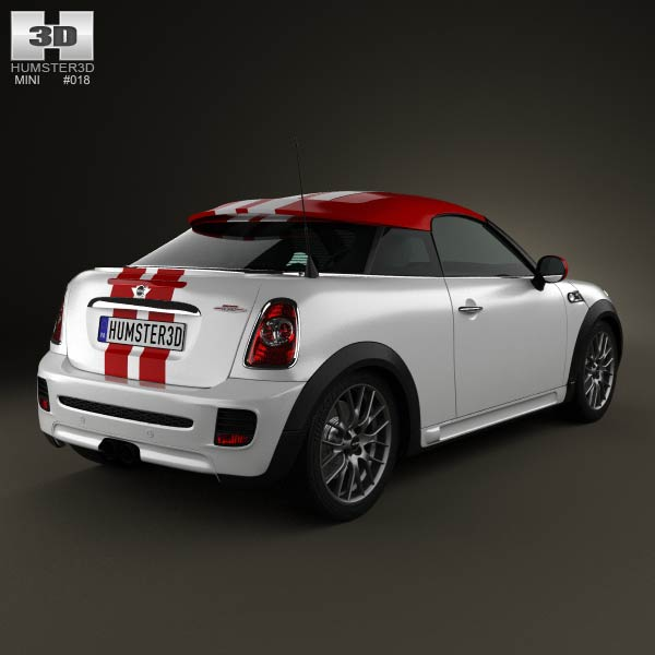 Mini John Cooper Works coupe 2013 3d model