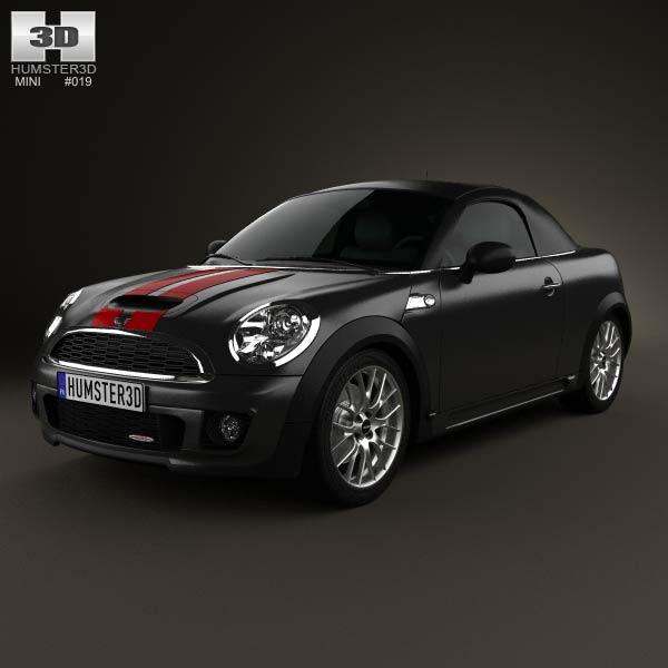 Mini John Cooper Works roadster 2013 3d car model