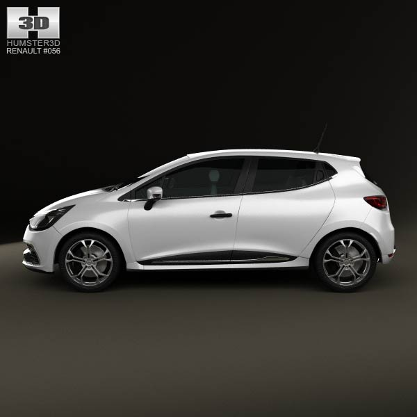 renault clio iv rs 2013 3d model humster3d. Black Bedroom Furniture Sets. Home Design Ideas