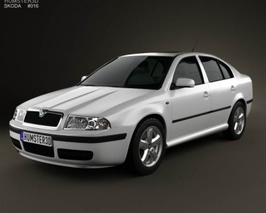 3D model of Skoda Octavia Tour 2000