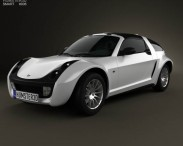 3D model of Smart Roadster Coupe 2005