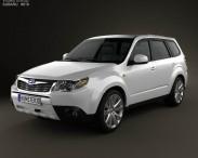 3D model of Subaru Forester Premium 2011