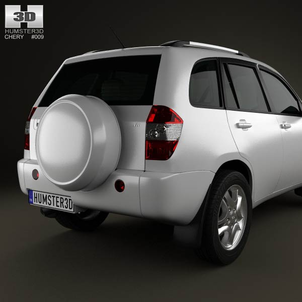 chery tiggo j11 with hq interior 2013 3d model humster3d. Black Bedroom Furniture Sets. Home Design Ideas