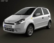 3D model of Chery A1 (J1) with HQ interior 2012