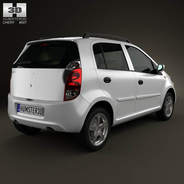 Chery A1 (J1) with HQ interior 2012 3d model