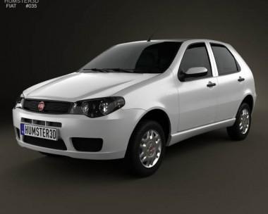 3D model of Fiat Palio Fire Economy 2012