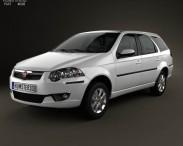 3D model of Fiat Palio Weekend 2012