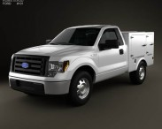 3D model of Ford F-150 6 Series WB 2011