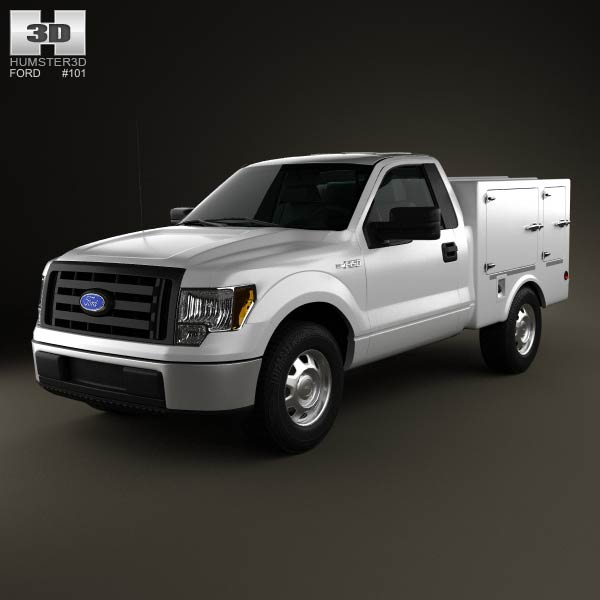 Ford F-150 6 Series WB 2011 3d car model