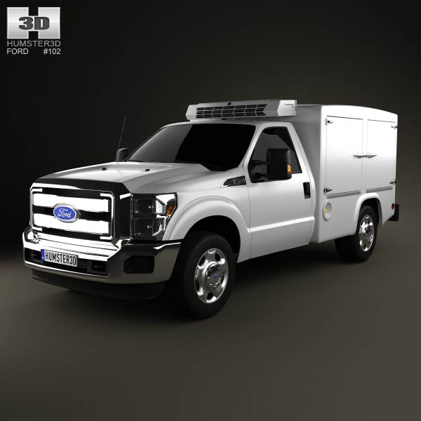 Ford Super Duty 8 Series 2011 3d car model