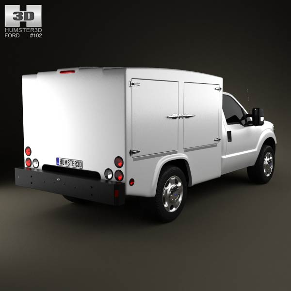 Ford Super Duty 8 Series 2011 3d model