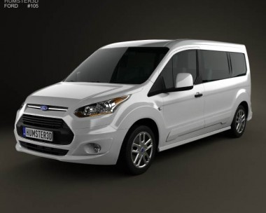 3D model of Ford Tourneo Connect 2014
