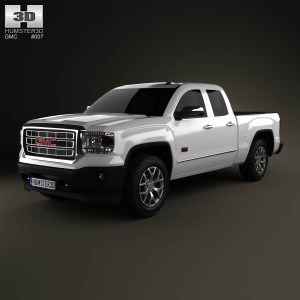 GMC Sierra Crew Cab 2013 3d car model