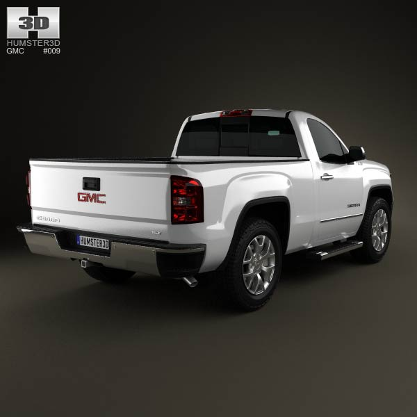 GMC Sierra Single Cab 2013 3d model