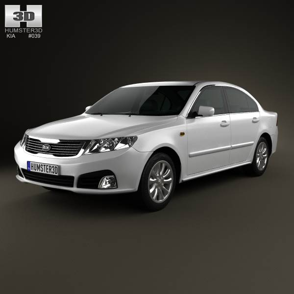 Kia Optima (Magentis) 2010 3d car model