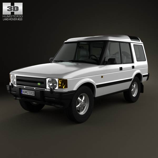 Land Rover Discovery 5-door 1989 3d car model