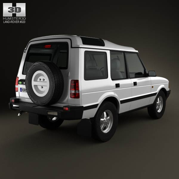 Land Rover Discovery 5-door 1989 3d model