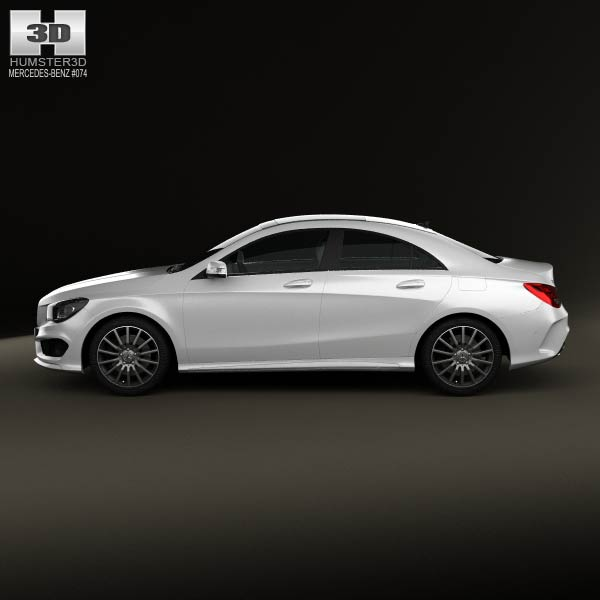 Mercedes benz cla amg sports package 2013 3d model humster3d for Mercedes benz sport models