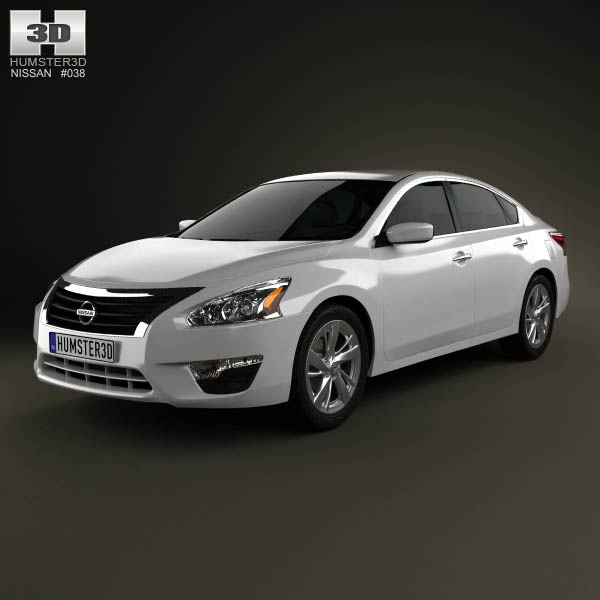 Nissan Altima 2013 3d car model