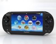 3D model of Sony PlayStation Vita