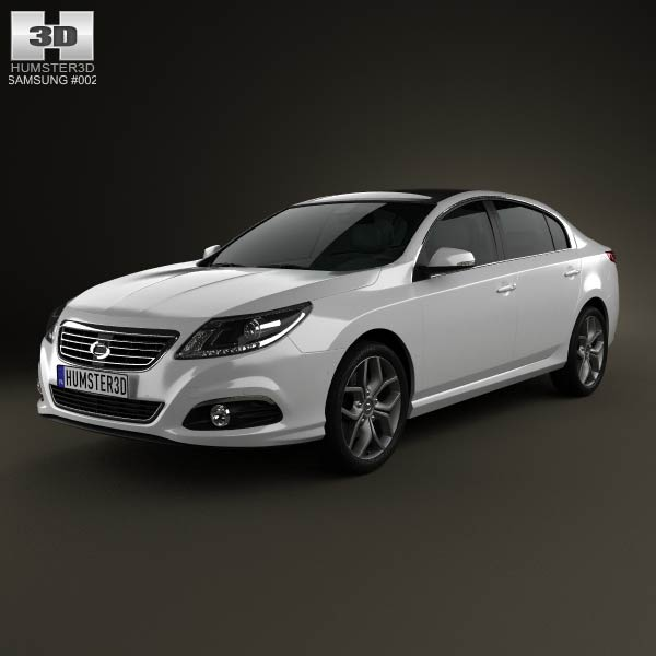Samsung SM5 2013 3d car model